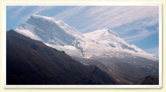 Huascarán mountain