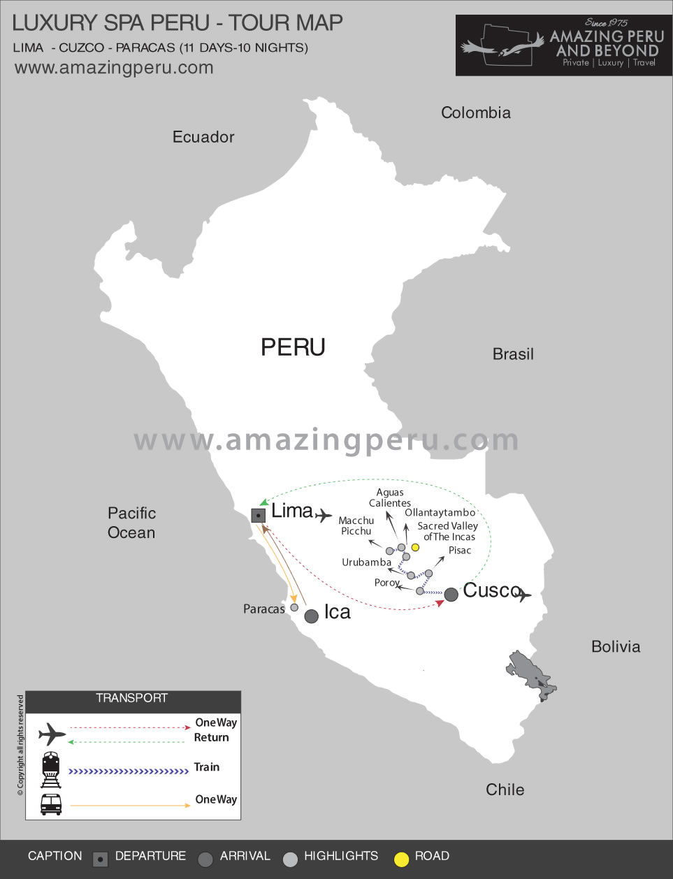 Luxury Spa Tour Peru - 11 days / 10 nights.