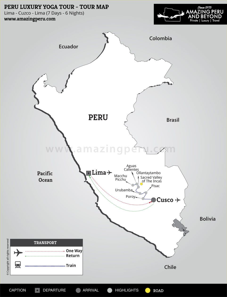 Peru Luxury Yoga Tour - 7 days / 6 nights.