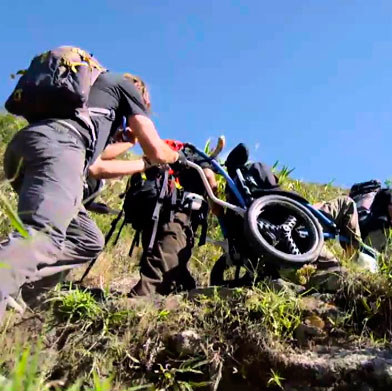 The Steve Gleason Inca Trail route - Luxury Accessible Peru Tour ( Handicapped / Wheelchair)
